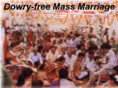 marriage and dowry free zone In india, violence related to dowry surfaces after marriage, when the initial dowry, paid at the time of the wedding, is already in the hands of the husband and his family the husband and his family demand additional payments, and the husband systematically abuses the wife in order to extract larger transfers.